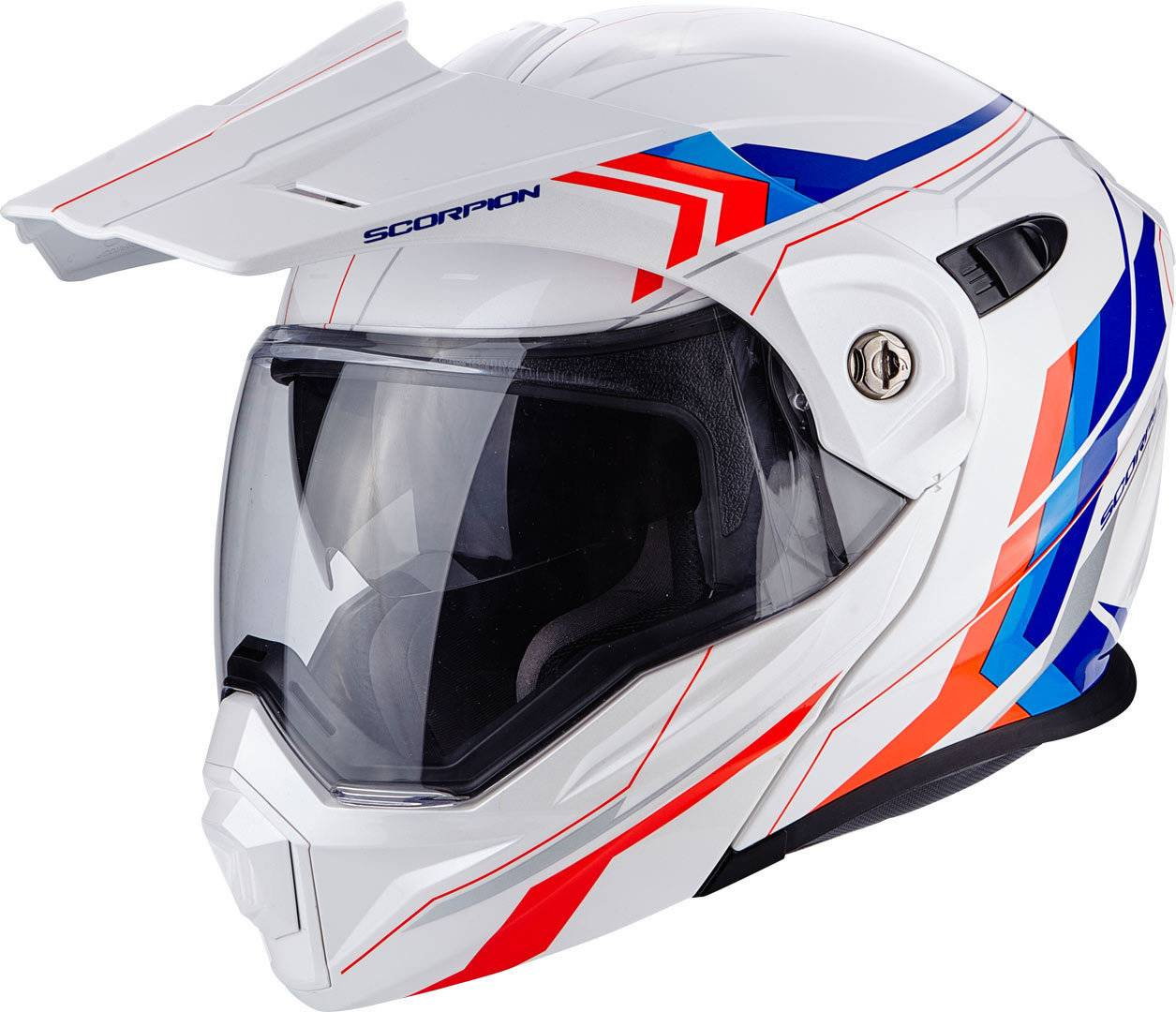 Scorpion ADX-1 Anima Casco Blanco/Rojo/Azul S (55/56)