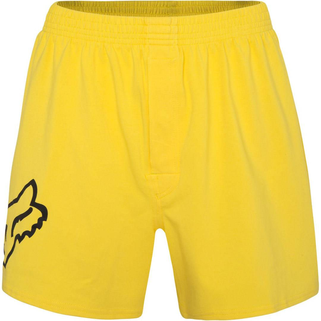 Fox Jumped Pantalones cortos Amarillo S