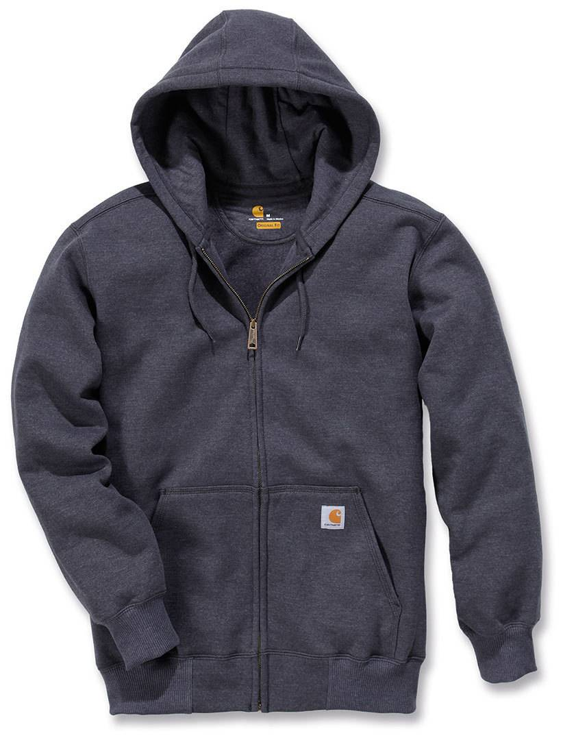 Carhartt Paxton Heavyweight Zip Front Sudadera Gris Oscuro S