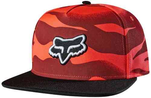 Fox Vicious Baseball Hat Rojo
