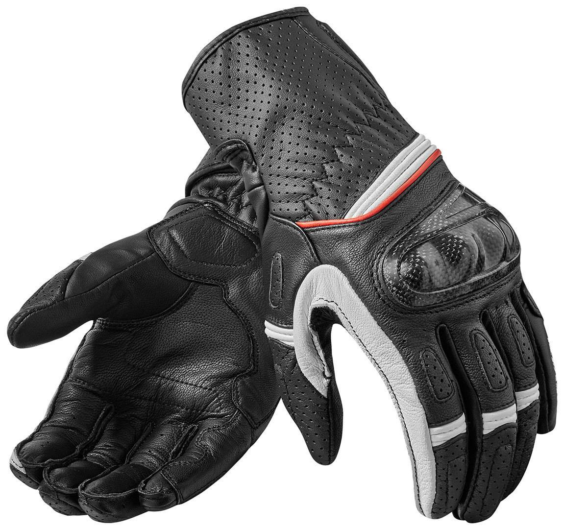 Revit Chevron 2 Guantes Negro/Blanco XL