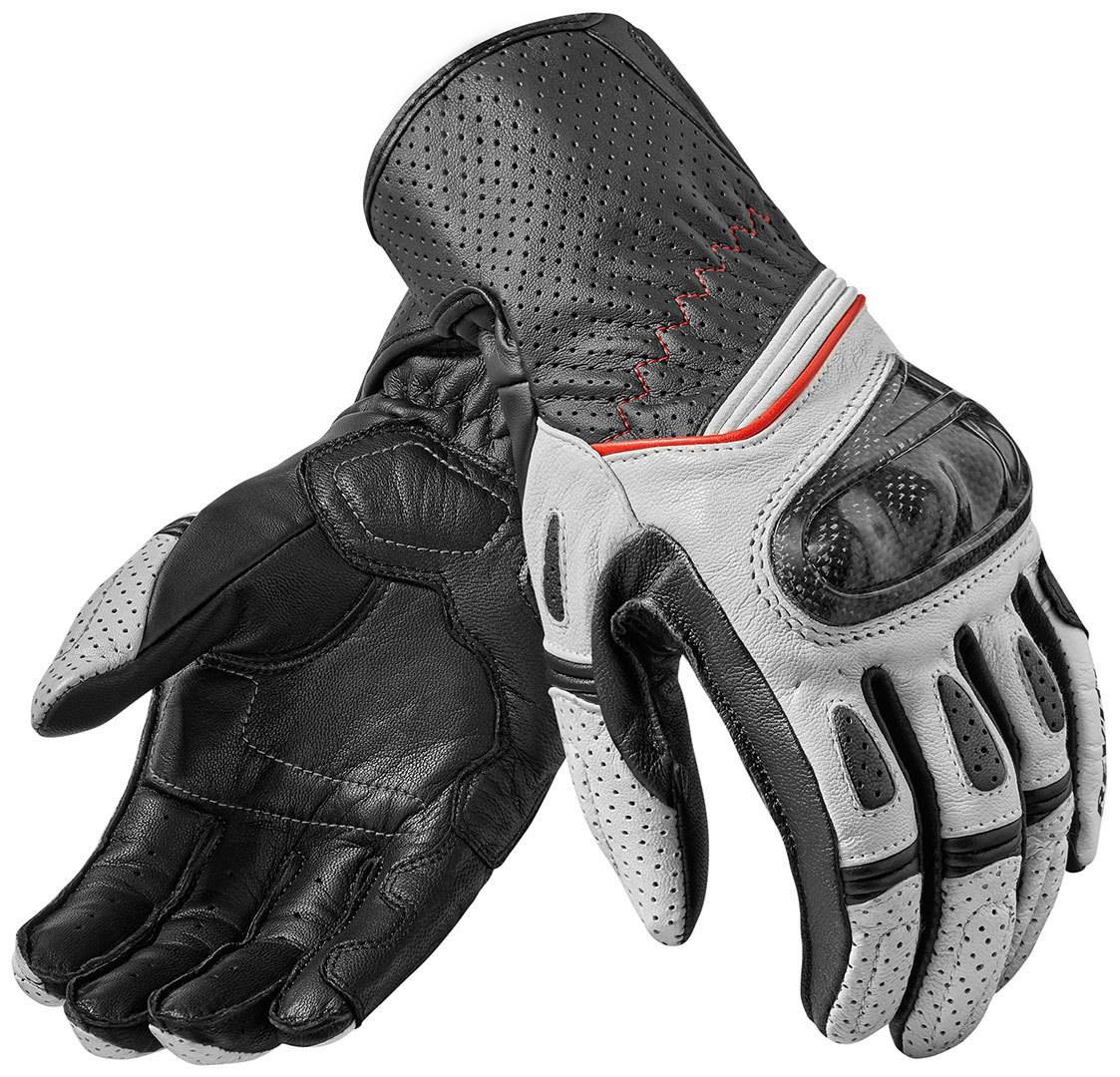 Revit Chevron 2 Guantes Blanco/Negro XL