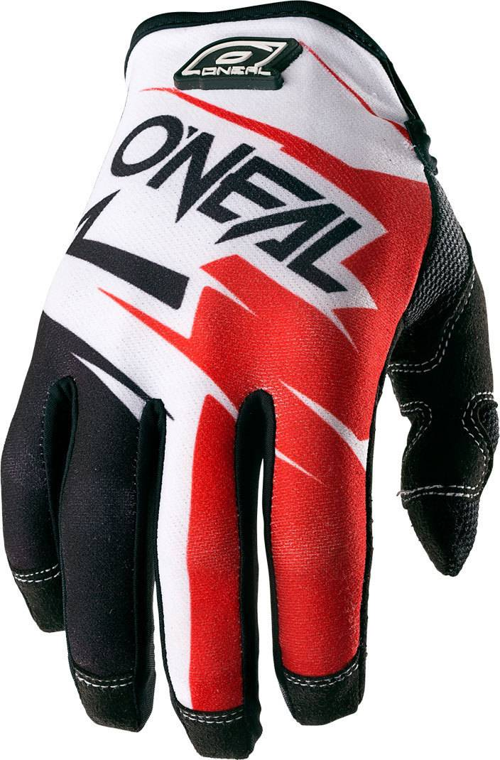 Oneal O´Neal Jump Flow Jag Guantes Negro/Blanco/Rojo/Azul M