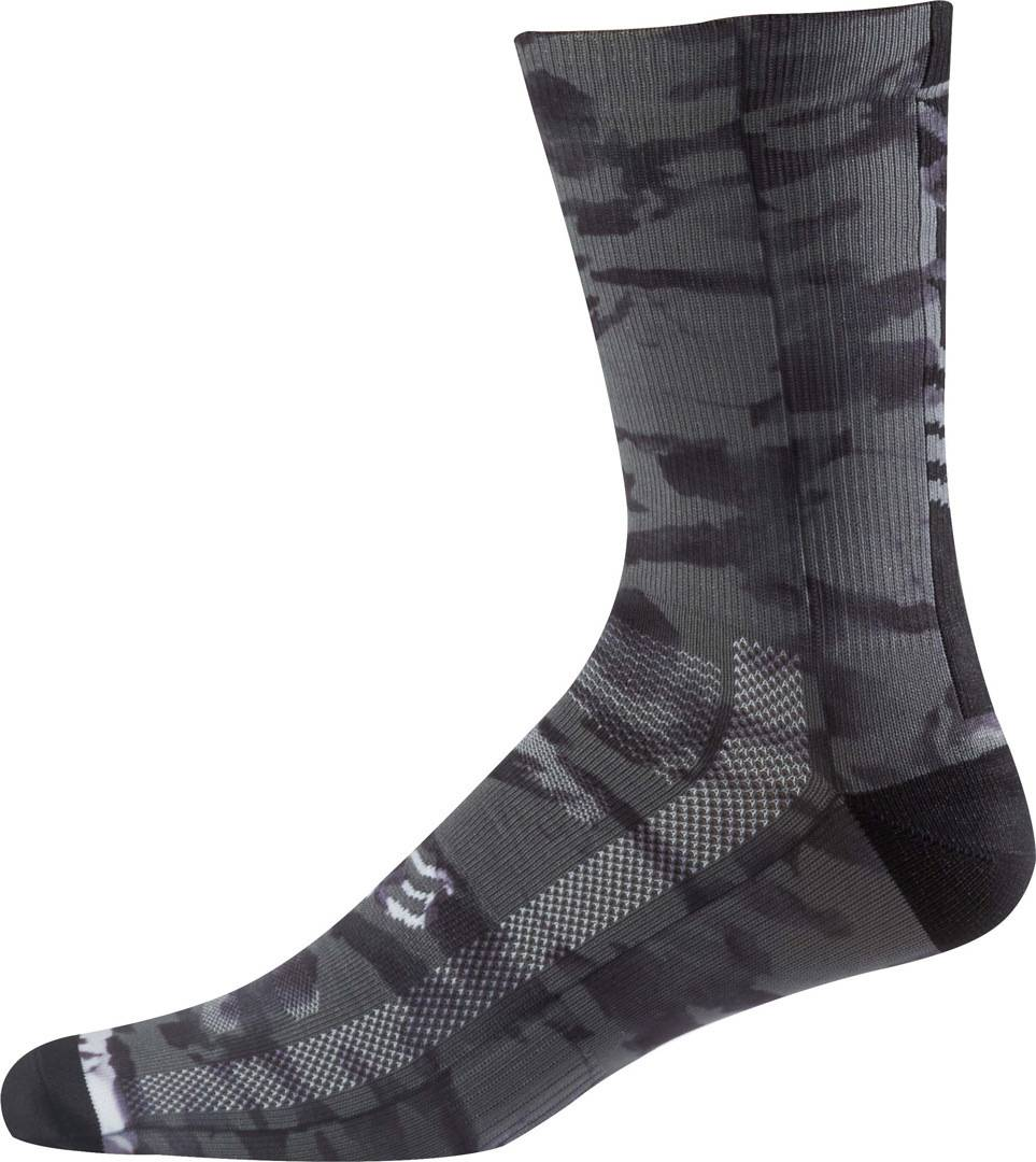 Fox Creo Trail 8 Calcetines Negro/Gris S/M
