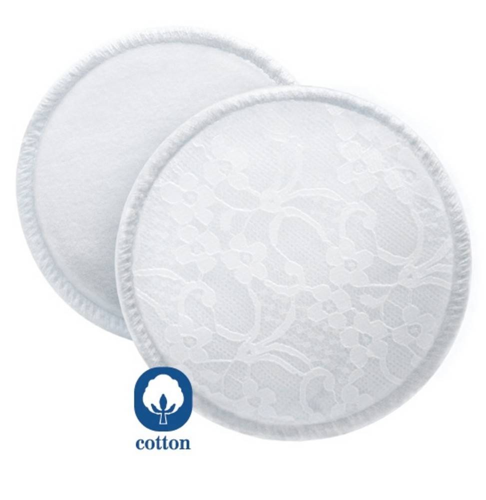 Philips Discos Absorbentes Lavables Avent 6 Uds