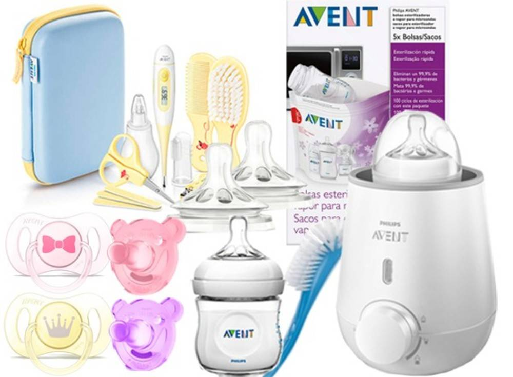 Philips Set Productos Niña Philips Avent 0-3m