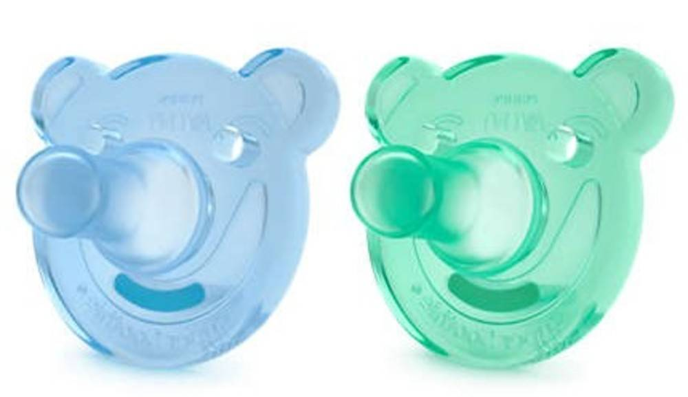 Philips Chupetes Silicona Avent 2 Uds 3m+