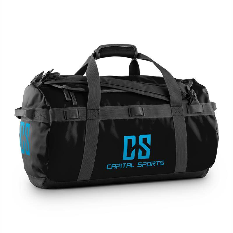 Capital Sports Journ Bolsa de deporte 45l Impermeable Robusta Negro (FIT23-Journ)