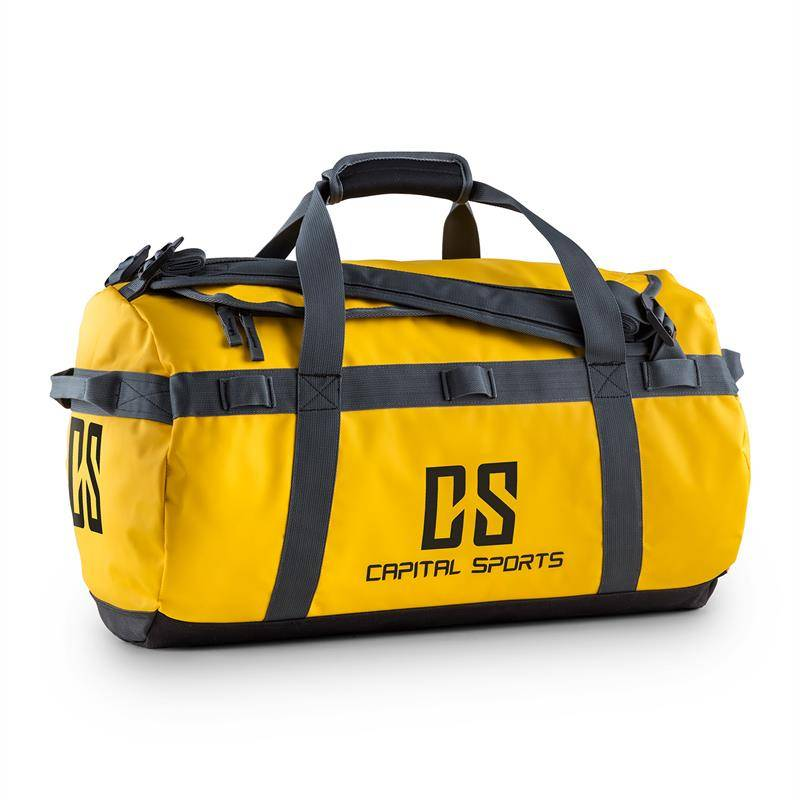 Capital Sports Journ Bolsa de deporte 45l Impermeable Robusta Amarillo (FIT23-Journ)