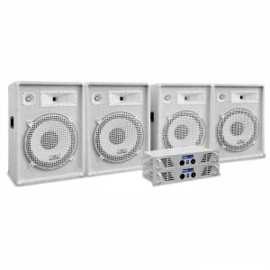 """Electronic-Star White Star Series """"Arctic Frost Pro"""" Set sonido profesional 3200W (PL-AU-WH-3200-4.0)"""