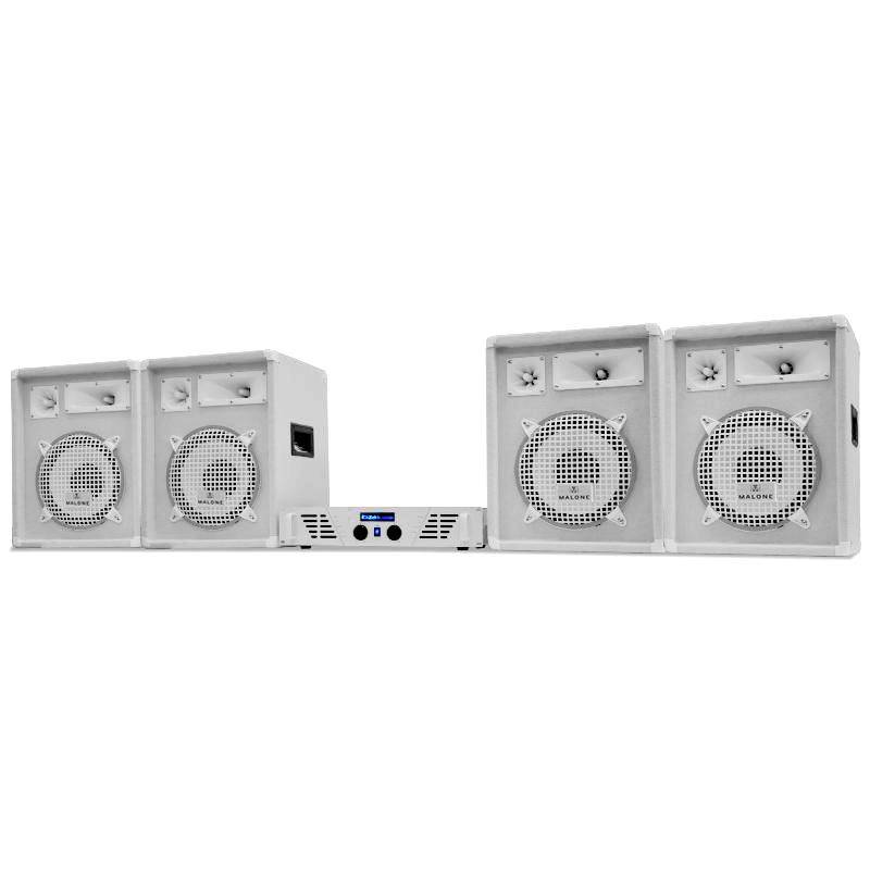 Electronic-Star PA Set White Star Series  (PL-AU-WH-1600-4.0)