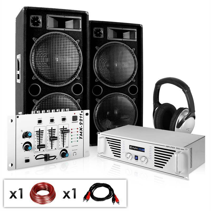Electronic-Star Equipo DJ-PA  (PL-2733-0211)