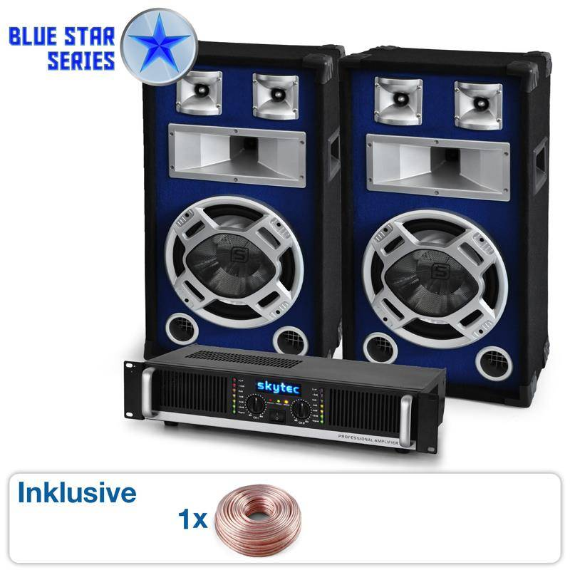 Electronic Star Equipo PA de la serie Blue Star  (BS-Beatbass II)