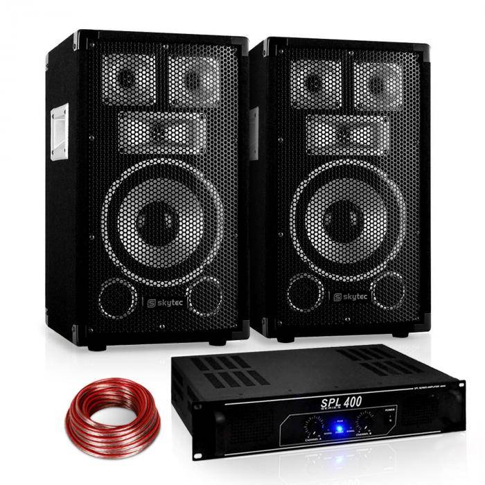 "Electronic-Star ""Warm Up Party"" 8PLUS serie Saphir Set PA 2.1 400W (PL-10874-1180-2629)"