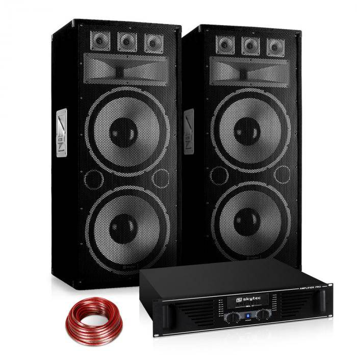 "Electronic-Star ""Warm Up Party"" 215PLUS Set PA 2.1 serie Saphir (PL-10878-1711-2629)"