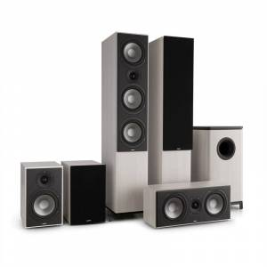 Numan Reference 851 5.1-Soundsystem roble gris con cover negro (60001639)