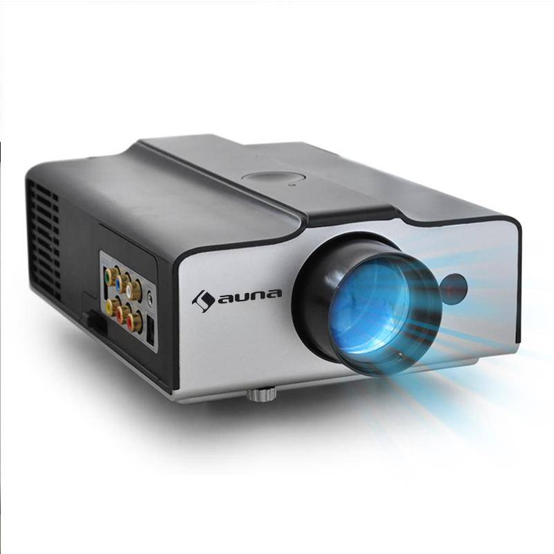 Auna EH3BS Proyector LED compacto HDMI HD (LCDP-EH3BS)