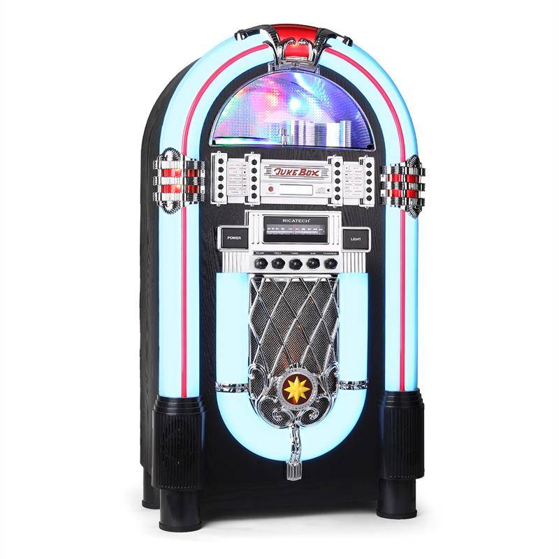 Ricatech RR 1000 - Jukebox CD AM/FM AUX LED (656000)