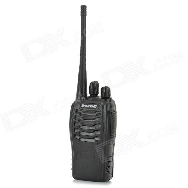 Baofeng BF-888S 5W 400 ~ 470 MHz 16 Canales Walkie Talkie - Negro