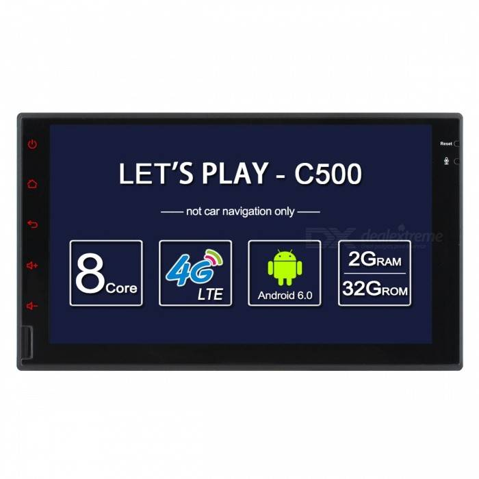 Ownice C500 Octa-Core Android 6.0 Car PC Universal 2 Din para Nissan