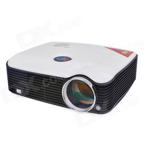 PH5 2500lm 1080P Full HD Home Theater LED Proyector - Blanco (EE.UU. enchufes)