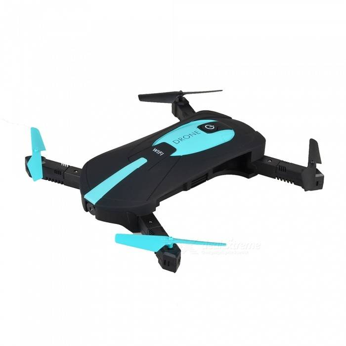 JY018 Wi-Fi FPV plegable Mini Drone RC Quadcopter con camara 2.0MP HD