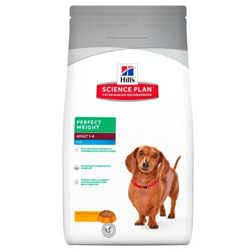 Hills Hill's Science Plan Perfect Weight Canine Mini pienso para perros