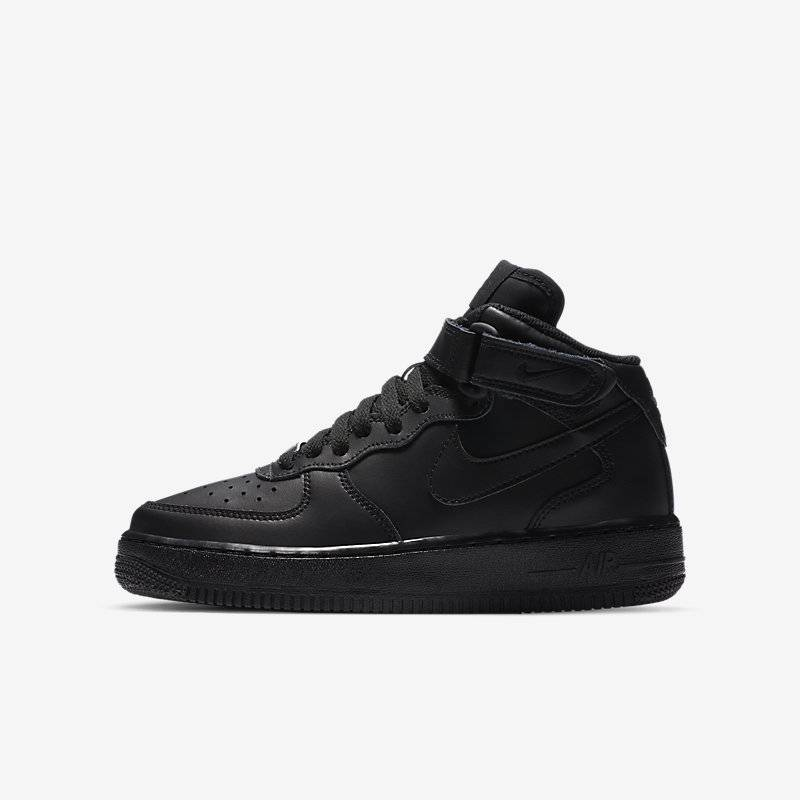 Nike Air Force 1 Mid 06 Negro,Negro