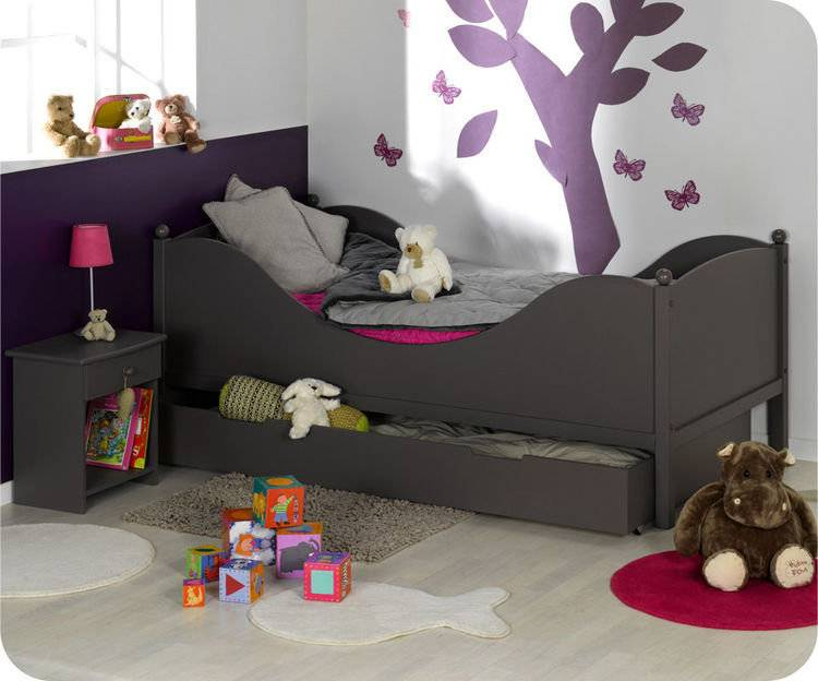 Pack cama COLOR Chocolate + Somier + Colchón AirFresh