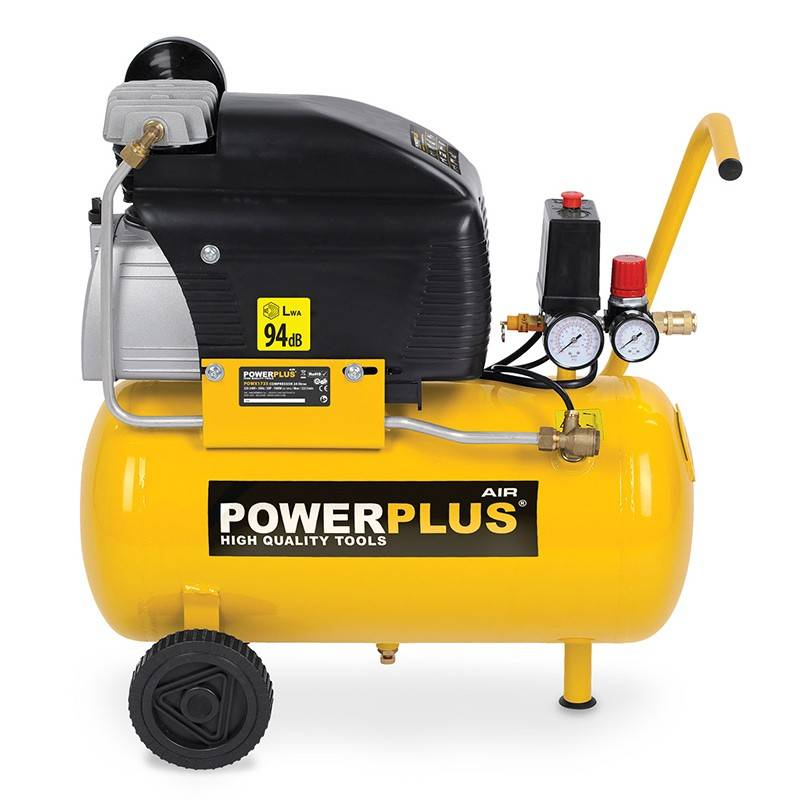 Powerplus Compresor 24 litros 1500W Powerplus POWX1735