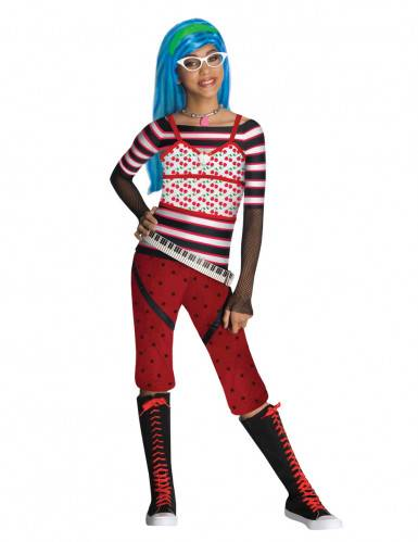 Monster Cable Disfraz Ghoulia Yelps Monster High fille  3-4 años (98/104)