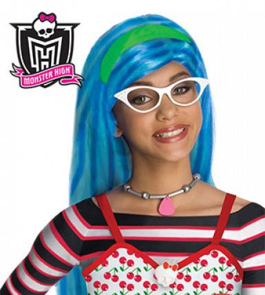 Monster Cable Peluca Ghoulia yelps Monster High niña Única