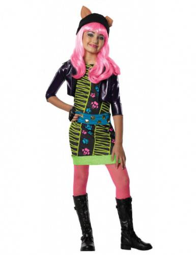 Monster Cable Disfraz Howleen Wolf Monster High niña 8-10 años (128-140)