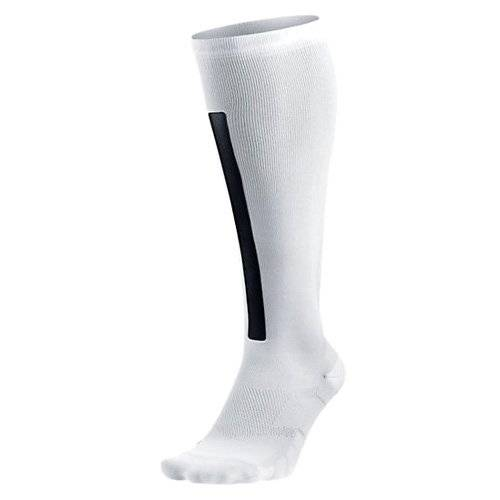 Nike Women Elite High Intens - Calcetines para mujer, color blanco, talla M