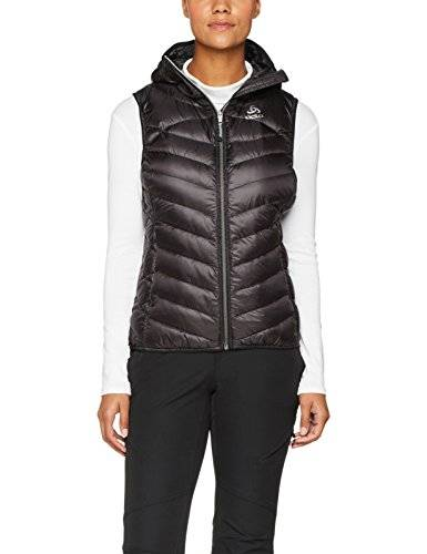 Odlo Air Cocoon Chaleco, Mujer, Negro, M