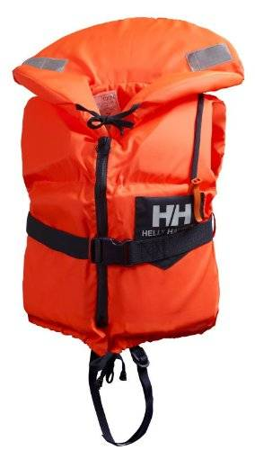 Helly Hansen Navigare Scan - Chaleco unisex, color naranja, talla 40/60 kg
