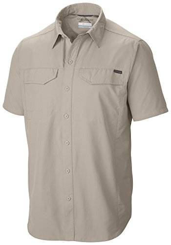 Columbia AM7474 Camisa, Hombre, Beige (Fossil), XL
