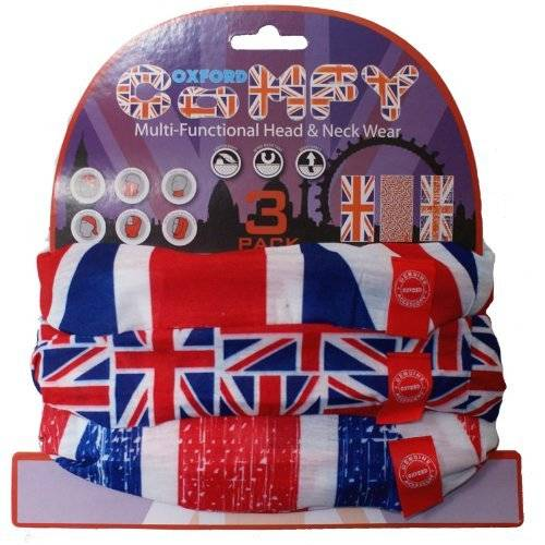 Oxford NW120 - Oxford Comfy Union Jack 3 Pack