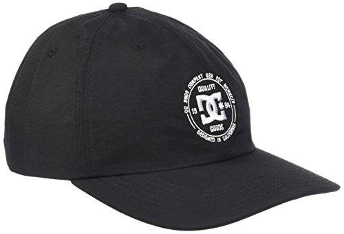 DC Shoes Tender Gorra, Hombre, Negro (Anthracite Solid), Talla Única