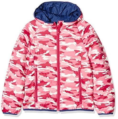 Craghoppers Discovery Adventures Clima Plus Chaqueta, Infantil, Electric Pink Combo, 9-10