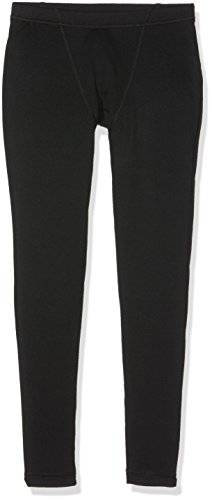 Columbia Boy 's Midweight Crew Base Layer pantalones, Niños, color Black B, tamaño L
