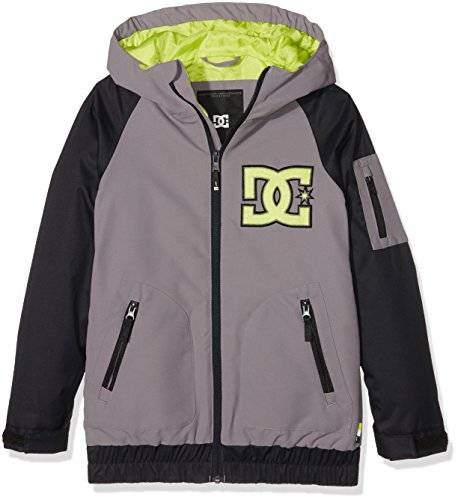 DC Shoes Youth - Chaqueta nieve para niño, color gris, talla L