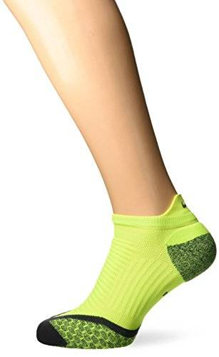 Nike Show Socks Elite Running Cushion Nst Calcetines, Unisex adulto, Lima/Gris (Volt/Anthracite/Anthracite), 38.5-40.5