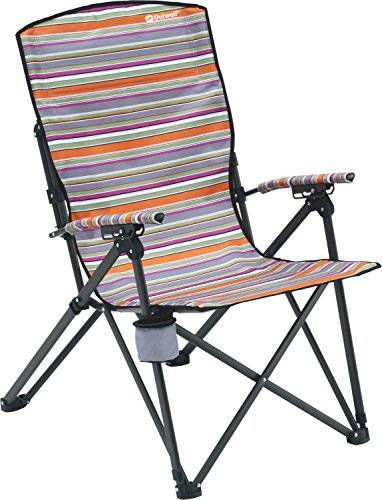 Outwell Harber Summer Silla Plegable, Unisex, Multicolor, Talla Única