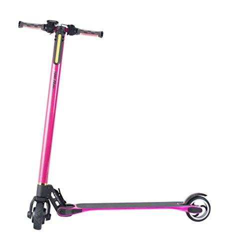 Run & Roll Scoot Carbono 360 - Scooter eléctrico, color fucsia, 5