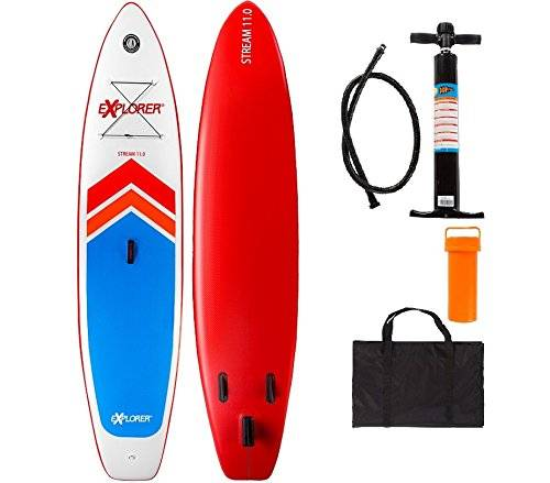 Explorer 2Sup Inflatable Stand Up Paddle Surf Board ISUP hinchable Board 335/15cm