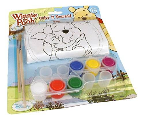 Shellbag Colts 01021 - Color It Yourself Tee Winnie the Pooh, 3-4 años
