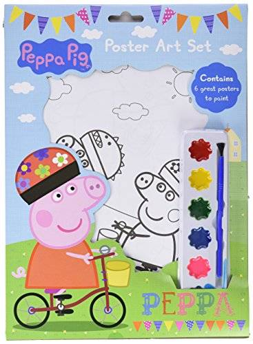 Peppa Pig Poster Art Set (New Style)