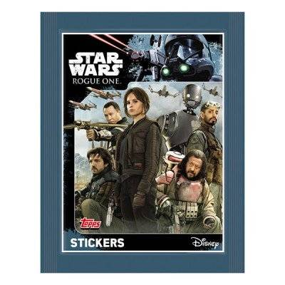 Topps R1S-STDE2-D Star Wars Rogue One - Adhesivos, expositor con 50paquetes, 5cromos
