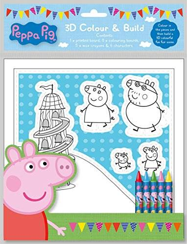 Peppa Pig 3D Colour and Build Set